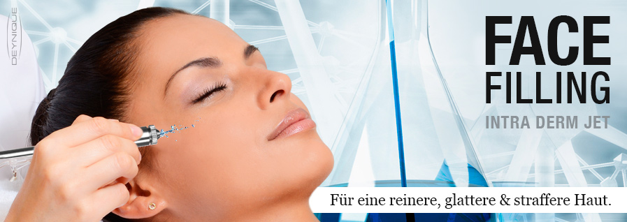 NEU! Face Filling Intra Derm Jet.